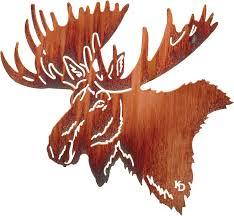 moose home decor wall art of moose moose wall hangings