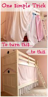 simple no sew bunk bed tent bunk bed tent bunk bed and bunk bed