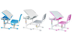 vivo height adjustable childrens desk u0026 chair kids interactive