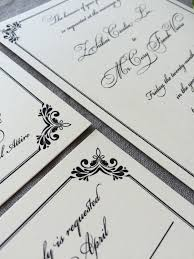 regency wedding invitations sle regency wedding invitation suite cardinal and straw