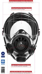 advanced tactical gas mask mestel sge 400 3 bb top tier gear usa