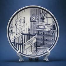 nursery personalized birth plate with nursery