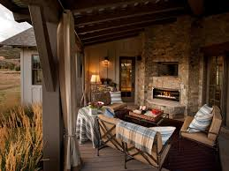 Livingroom Fireplace by Outdoor Fireplace Design Ideas Hgtv