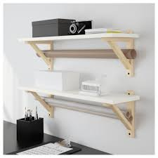 Floating White Shelves by Living Room Natural Unvarnished White Wall Floating Shelves