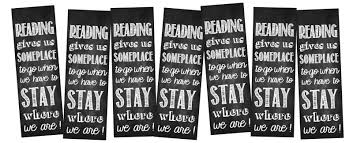 printable bookmarks for readers gives us someplace to go printable and bookmarks