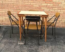 Cosco Folding Table And Chairs Vintage Folding Card Table Etsy