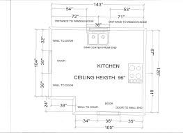 best kitchen layout dimensions contemporary home decorating