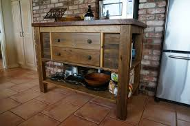 Wood Kitchen Island Table Custom Kitchen Islands Reclaimed Wood Kitchen Islands