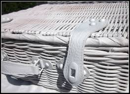 homeroad white basket suitcases