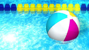 ball rubber rings images Water pool with rubber ring or beach ball in swimming pool summer resiz