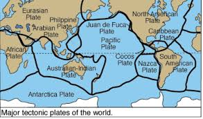 Map Of Tectonic Plates Hail Yo Yo U0027s Drought Nasa Tectonic Plates Tornadoes And You