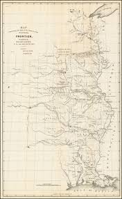 Map Of South Louisiana by Map Illustrating The Plan Of The Defences Of The Western Frontier