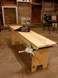 the sustainable couple diy primitive style bench for a breezeway
