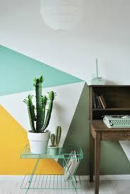 wandgestaltung mit farbe muster kreative wandgestaltung mit farbe zimmer