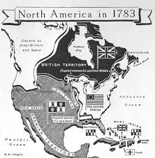 1783 Map Of The United States by North America In 1783 Historia Pinterest American History