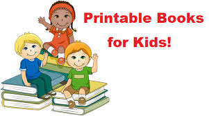 printable books kids