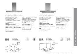 hauteur de hotte de cuisine atag nouveauté 2012
