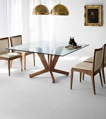 contemporary glass dining room tables modern glass dining tables