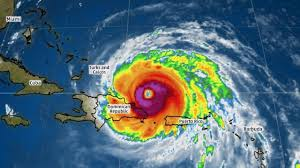 hurricane irma on its way to the bahamas as a potentially