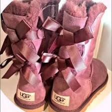 ugg bailey bow sale size 7 ugg australia purple lilac sparkle boots 7 without box