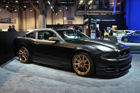 Black Mustang Black Rims Flat Black Mustang With Gold Wheels Mustang Performance Parts