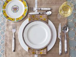 table setting ideas for dinner party dinner plate table setting