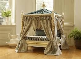 Cot Bed Canopy Pawhut Quot Elevated Cooling Dog Bed Cot With Canopy Shade Gray