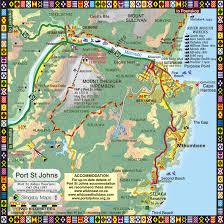 St John Map Wild Coast Place Port St Johns