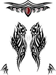 esfome tribal designs wings