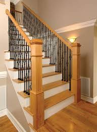 Oak Banisters And Handrails Stairs Inspiring Wood Stair Parts Wood Stair Parts Oak Handrail