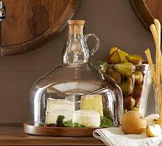 wine bottle platter wine bottle jug cloche cheese platter pottery barn