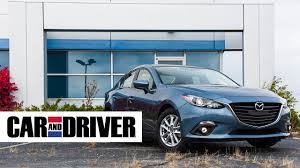 mazda car and driver mazda 3 review in 60 seconds car and driver youtube