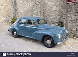classic peugeot coupe french veteran or vintage peugeot 203 car or automobile produced
