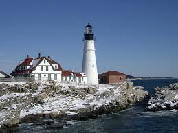 Portland Bed And Breakfast Who Visits Maine Lighthouses In The Winter Brewster House Bed