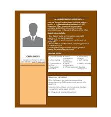 Free Administrative Assistant Resume Templates Administrative Resume Samples Free Administrative Assistant
