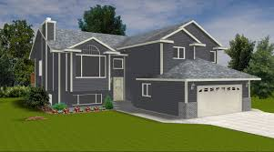 split level home plans canada