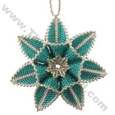 182 best beaded ornaments images on beaded