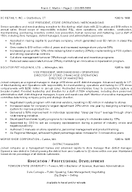District Manager Resume Examples by Executive Resume Examples Berathen Com