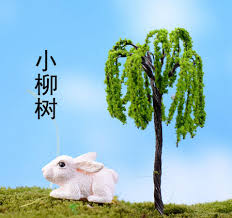 online buy wholesale miniature plastic trees from china miniature