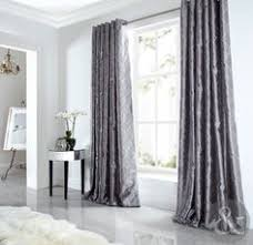 Grey Faux Suede Curtains Silver Grey Velvet Curtain Fabric By Fibre Naturelle Panther