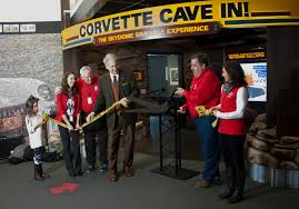 corvette museum collapse corvette cave in exhibit opens on two year anniversary of museum
