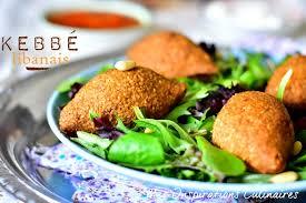recette de cuisine libanaise kebbé libanais ou kebbeh le cuisine de samar