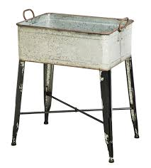 amazon com cape craftsmen vintage galvanized metal storage tub