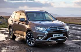 mitsubishi warrior 2010 mitsubishi outlander facelift 2010 uk gets outlander juro