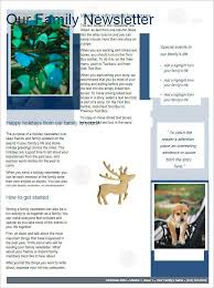 doc 475275 holiday newsletter template u2013 worddraw free christmas