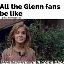 Glenn Walking Dead Meme - best 25 glenn meme ideas on pinterest walking dead glenn meme