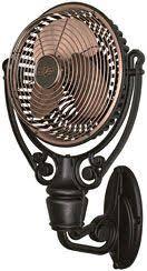 vintage wall mount fans monte carlo 4bfr54 butterfly 54 in ceiling fan 4bfr54bkd fans