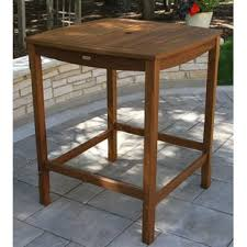 Square Bar Table Square Pub Tables Bistro Sets You Ll Wayfair