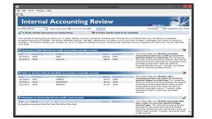 using the internal accounting review in sage 50 2014