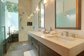 Kohler Double Vanity Kohler Undermount Sinks Bathroom Beach With Baseboards Bathroom